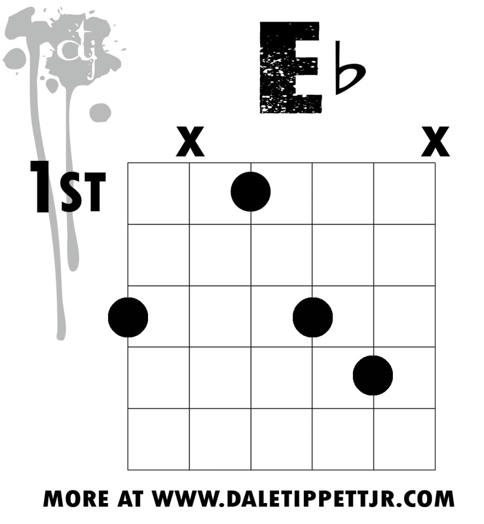Eb Chord Voicing Lesson When One Lower Is Eleven Higher