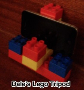 Lego iPhone Tripod
